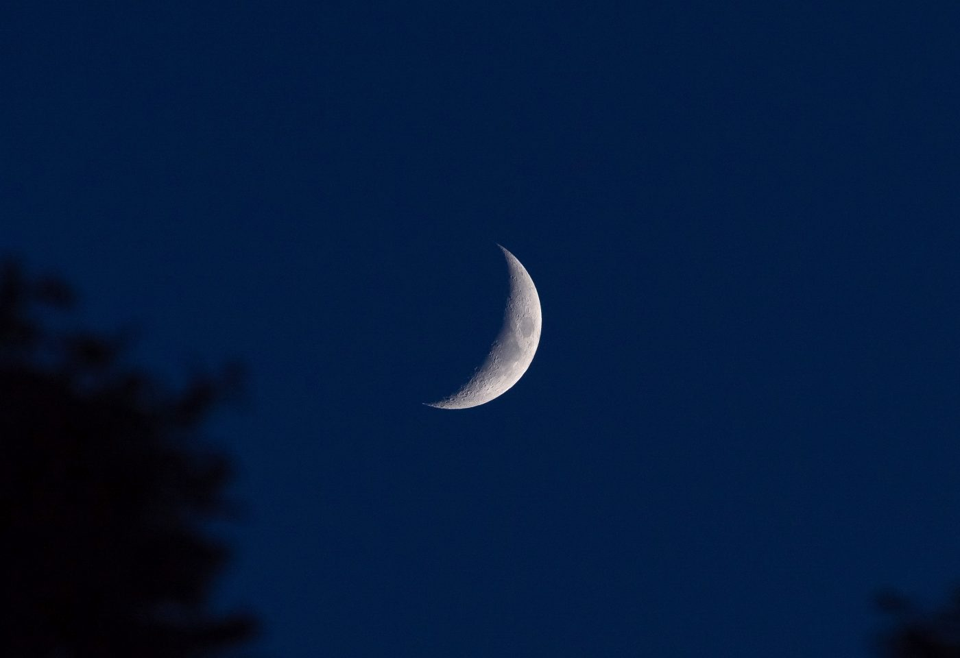 Crescent Moon on Chaand Raat
