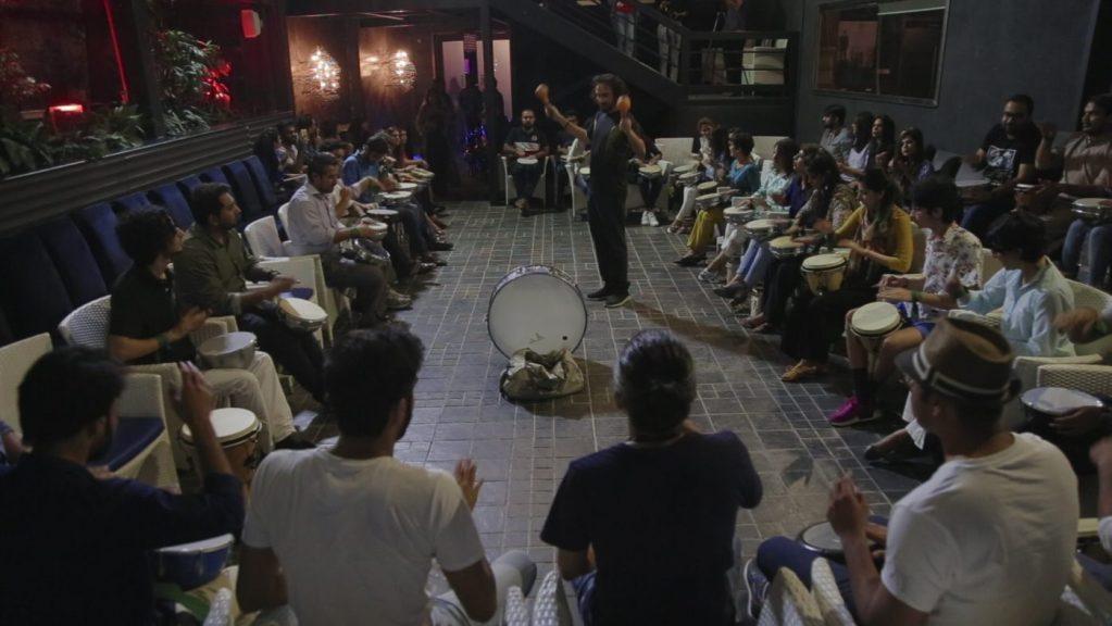 e - The Drum Clinic: A Full Moon Meditation