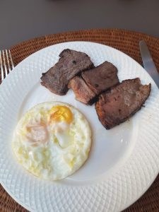Steak and Eggs Lahore