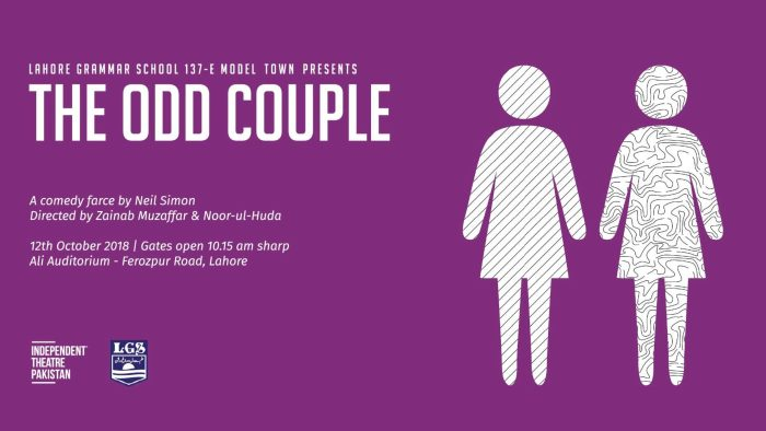 the odd couple 1024x576 - This Weekend In Lahore: For Shits and Giggles