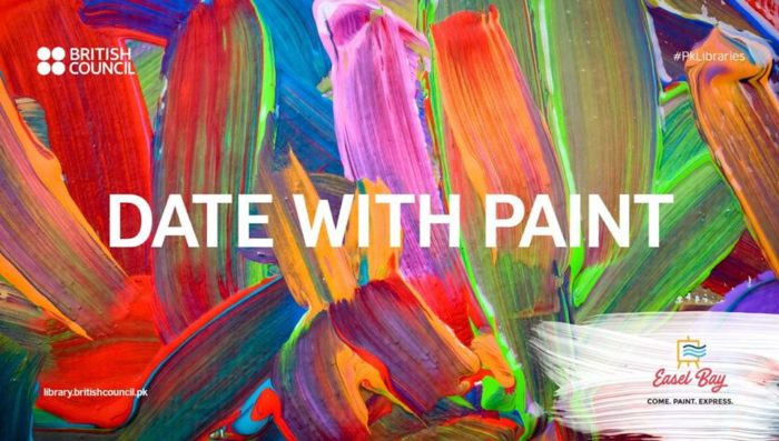 date with paint