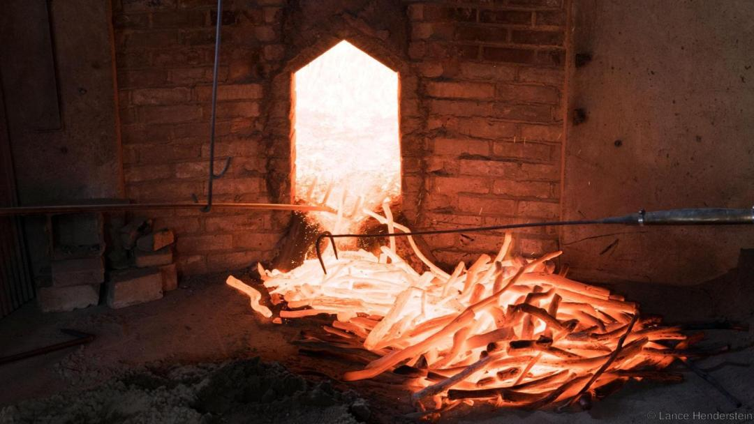 Tradional White Charcoal kiln