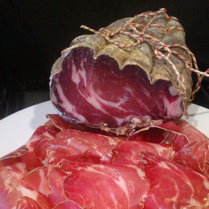 Gedroogde vleeswaren | Beuling Charcuterie | Coppa