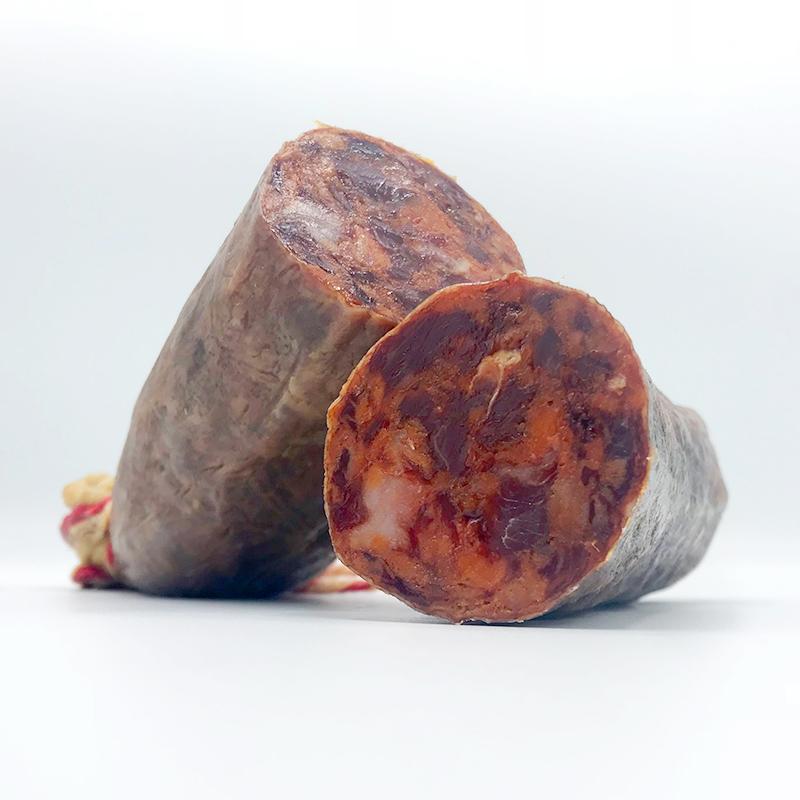 Droge worsten - Chorizo 100% Iberico Bellota - Pata Negra - Juan Pedro Domecq - Spanje - Jabugo Online bestellen webshop