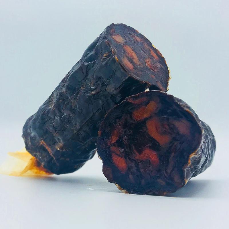 Spaanse droge worst worsten - Morcilla 100% Iberico Bellota - Juan Pedro Domecq - Spanje - Jabugo Online bestellen webshop