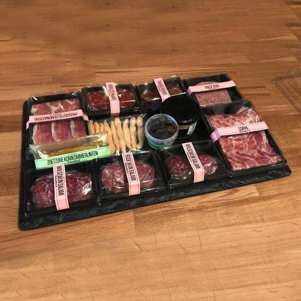 borrelplateau online bestellen vleeswarenschaal webshop