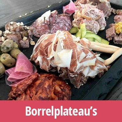 Vleeswarenplateau borrelplateau borrelschaal vleewarenschaal online bestellen