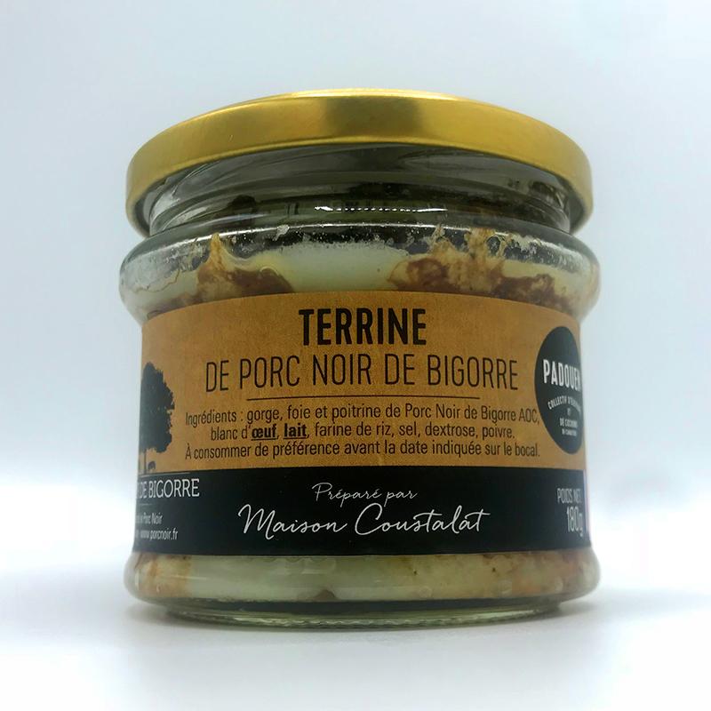Franse Terrine de campagne Boerenpate Boerenterrine van Noir de Bigorre Frankrijk