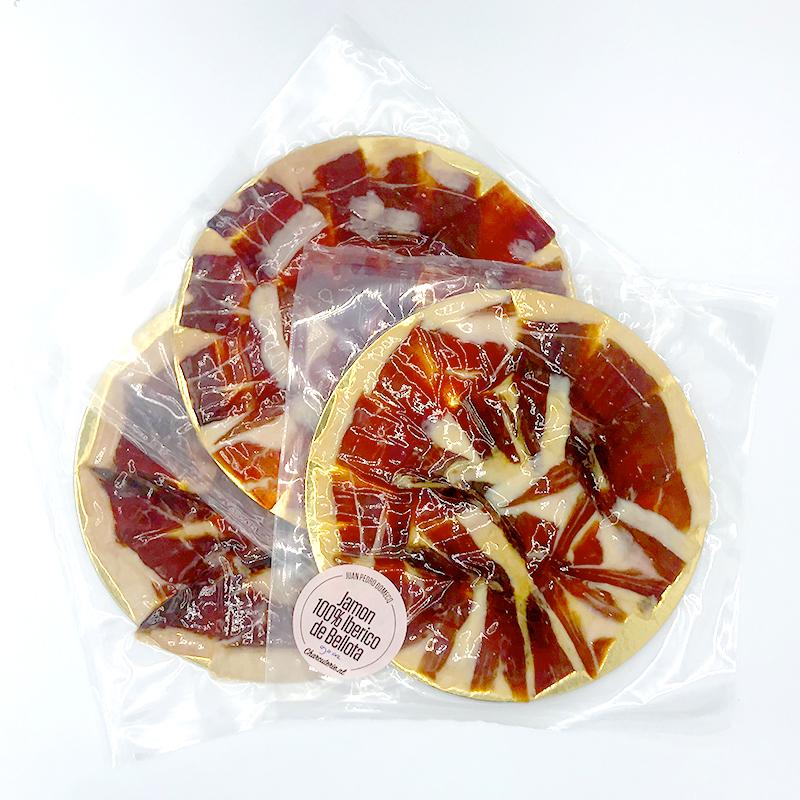 Elke maand 3 pakjes handgesneden Jamon 100% Iberico de Bellota (Pata Negra) Thuisbezorgd.