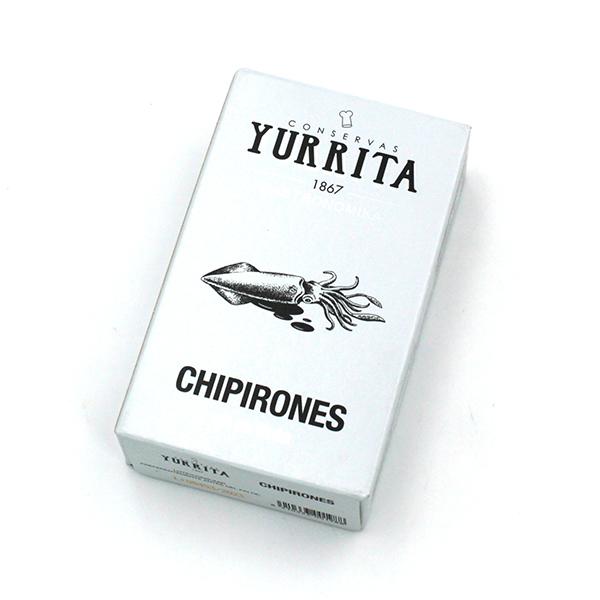 Yurrita Conservas Chipirones babyinktvis in eigen inkt online bestellen