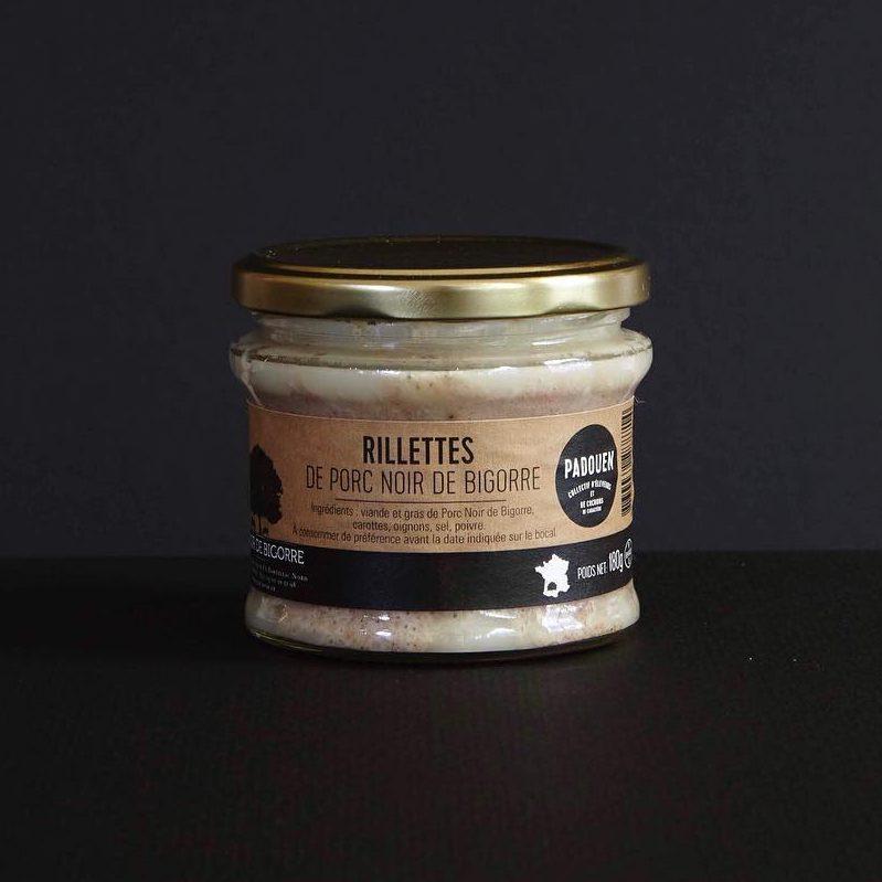 Franse rillettes noir de bigorre gegaarde vleeswaren online bestellen