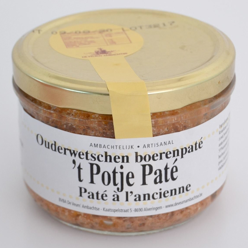 Charcuterie BoerenPate Pate Terrine De Veurn Ambachtse