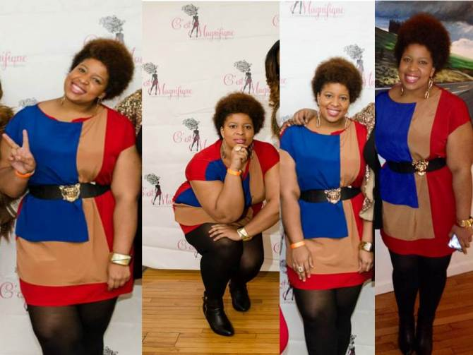 Dress: Asos Curve (sold out) Belt: Madrag Boutique Boots: Lane Bryant