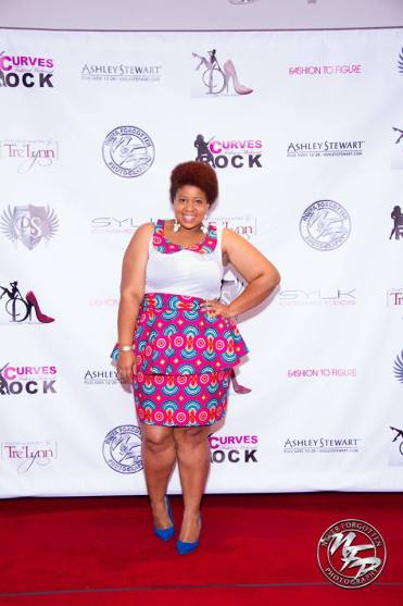 I was able to attend Curves Rocks Weekend and meet some amazing bloggers, models and even Tionna Smalls