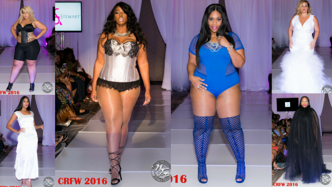 Plus Size Models at Curves Rock Weekend