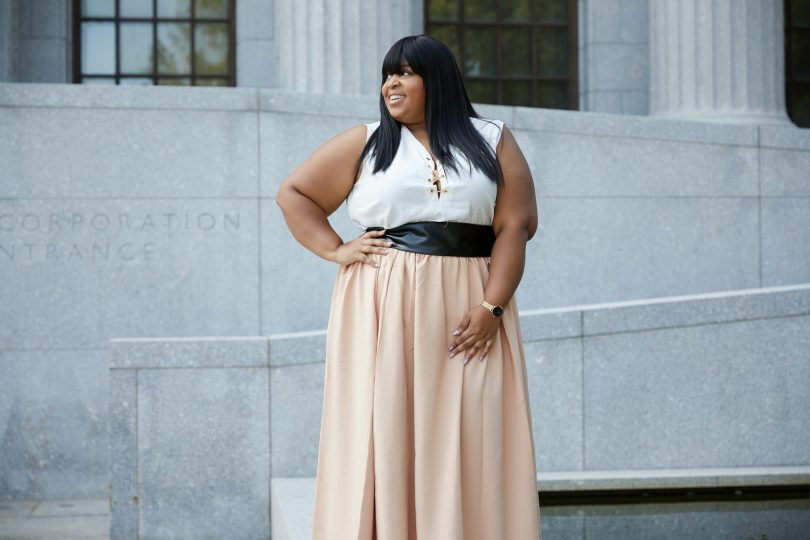 Plus Size Maxi Skirt by Society+