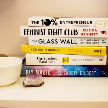 Books On Charelle's Bedside Table In 2016