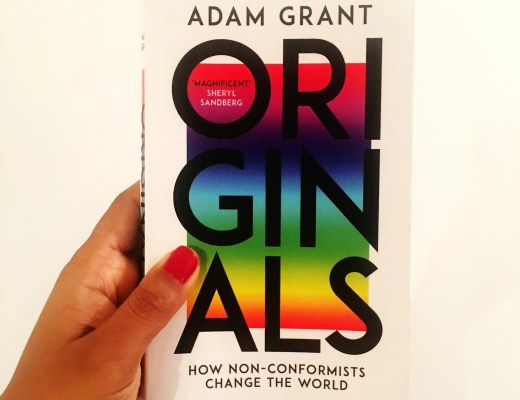 Originals by Adam Grant. Review by Charelle Griffith