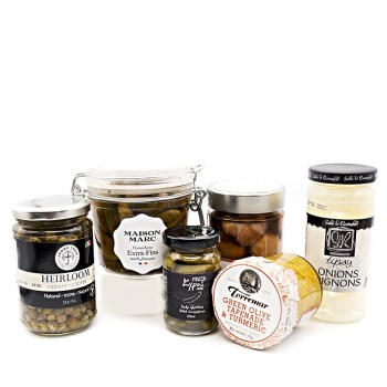 OLIVES, PICKLED & MARINATED ITEMS