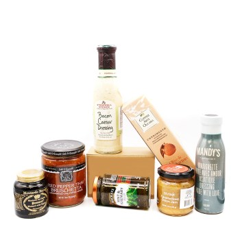 SAVOURY SPREADS, SAUCES AND DRESSINGS