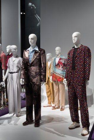 Modern Suiting Installation View. Photo courtesy The Museum at FIT.