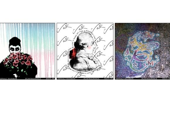 Asphalt Rainbow Limited Edition Stickers