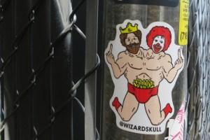 More Scent-ences Wizardskull in Bushwick McDonalds Burger King Queer