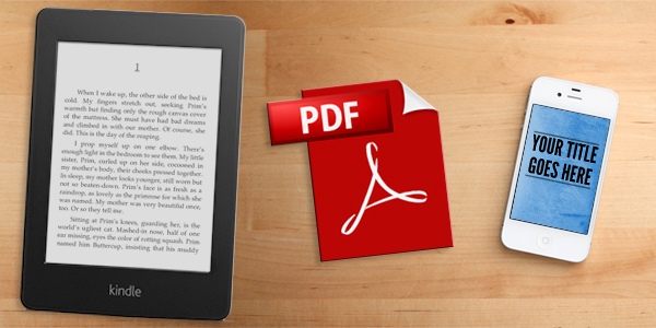 Ebooks, Kindle and PDFs, Oh My!
