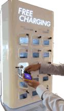 Free Charging Kiosk