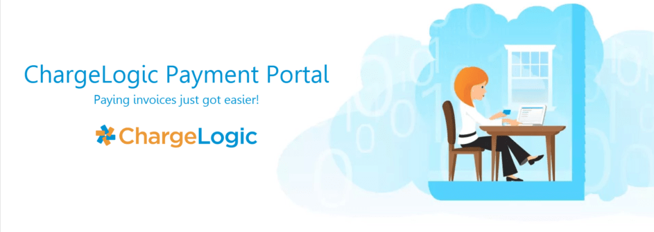 ChargeLogic Payment Portal Claire pays invoices online