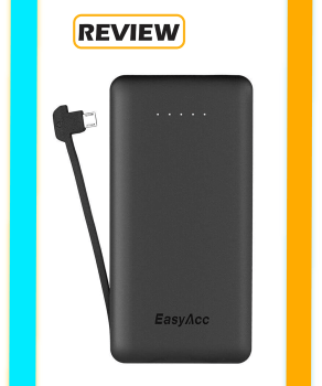 EasyAcc Built in Micro-USB Power Bank Review
