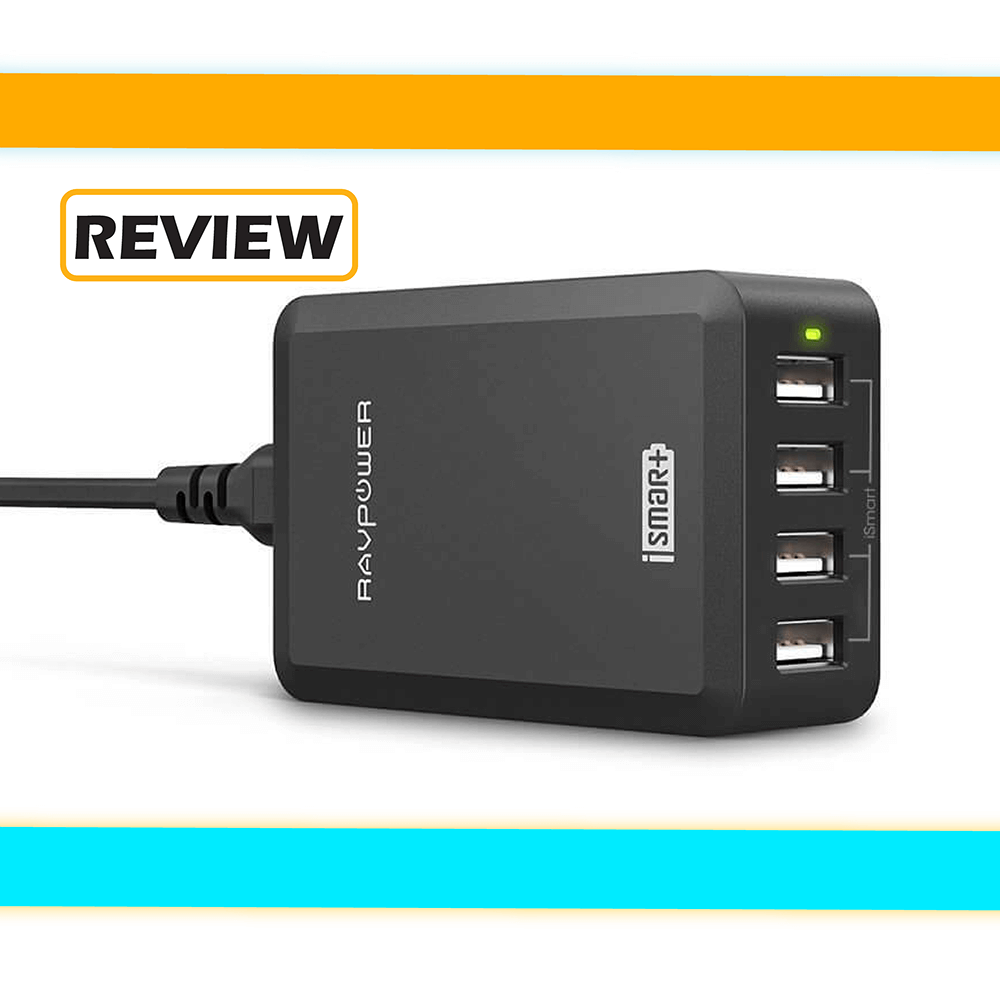 RAVPower 4-Port USB Wall Charger