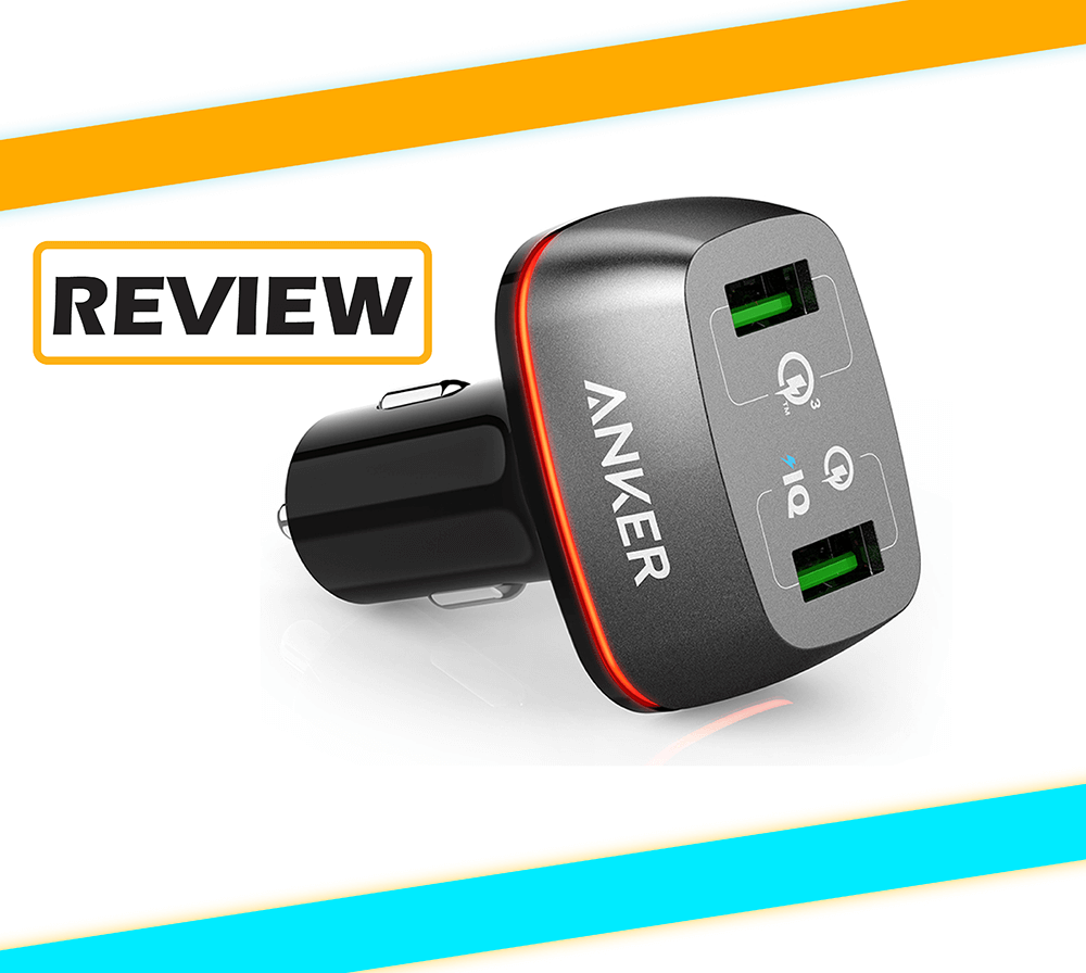 Anker PowerDrive+2 with Quick Charge 3.0