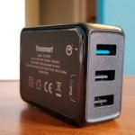 Tronsmart 3-Port 42W USB Wall Charger with Quick Charge 3.0