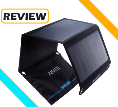 Anker 21W 2-Port USB Universal PowerPort Solar Charger Review