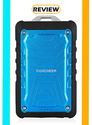 Coocheer 7,500mAh Rugged Power Bank Review