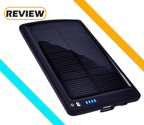 Opteka-SC4000 Thin Solar Power Bank