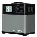 Suaoki 400Wh/120,000mAh Portable Power Supply