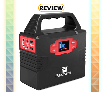 PAXCESS Portable Generator Power Inverter 40,800mAh Review