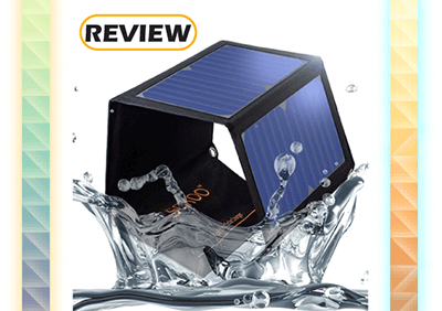 SOKOO 22W 2-Port Foldable Solar Charger