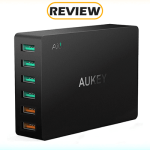 Aukey 6-Port USB Charging Station with Two Quick Charge Ports