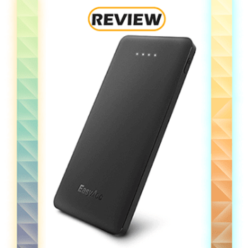 EasyAcc 10,000mAh Slim Portable Charger with Quick Charge Review