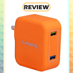Lumsing 2-Port Wall Charger with Quick Charge 3.0