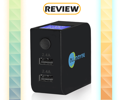 AllMaybe EU2-ST USB Wall Charger with LCD Screen Review