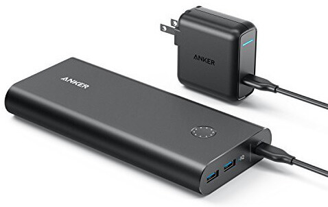 Anker PowerCore+ 26800 Power Bank with 30W Power Delivery Charger