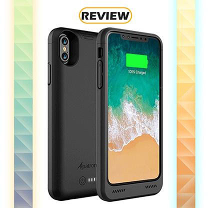 big sale 93918 09216 Review: Alpatronix BXX 5.8-inch 4,200mAh iPhone X Battery Case