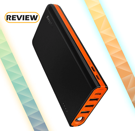EasyAcc MegaCharge D20 20,000mAh Power Bank Doubin 5A Input Review