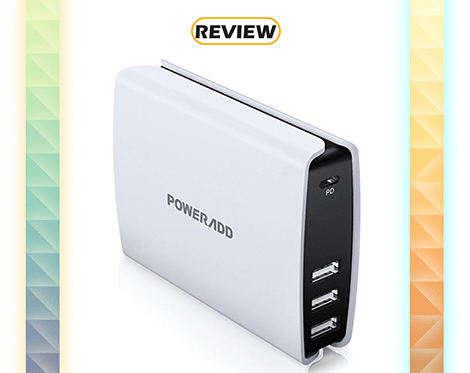 Poweradd Power Delivery 52W 4-Port Desktop Charger Review