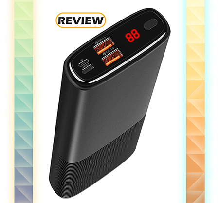 Puridea 20,000mAh USB-C Portable Charger with Quick Charge 3.0 Review