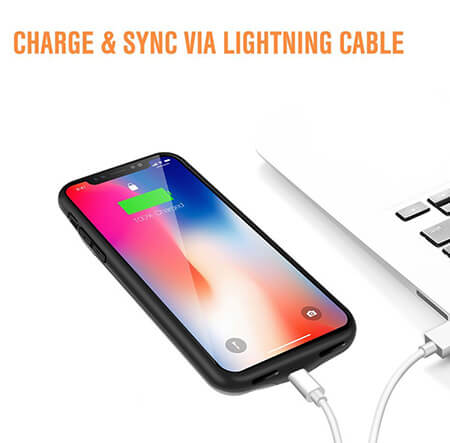 check out 09fea 3be0b iPhone X Mooncity 3,200mAh Battery Case